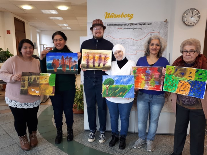 Ehrenamtliches Engagement - Kunstwerkstatt