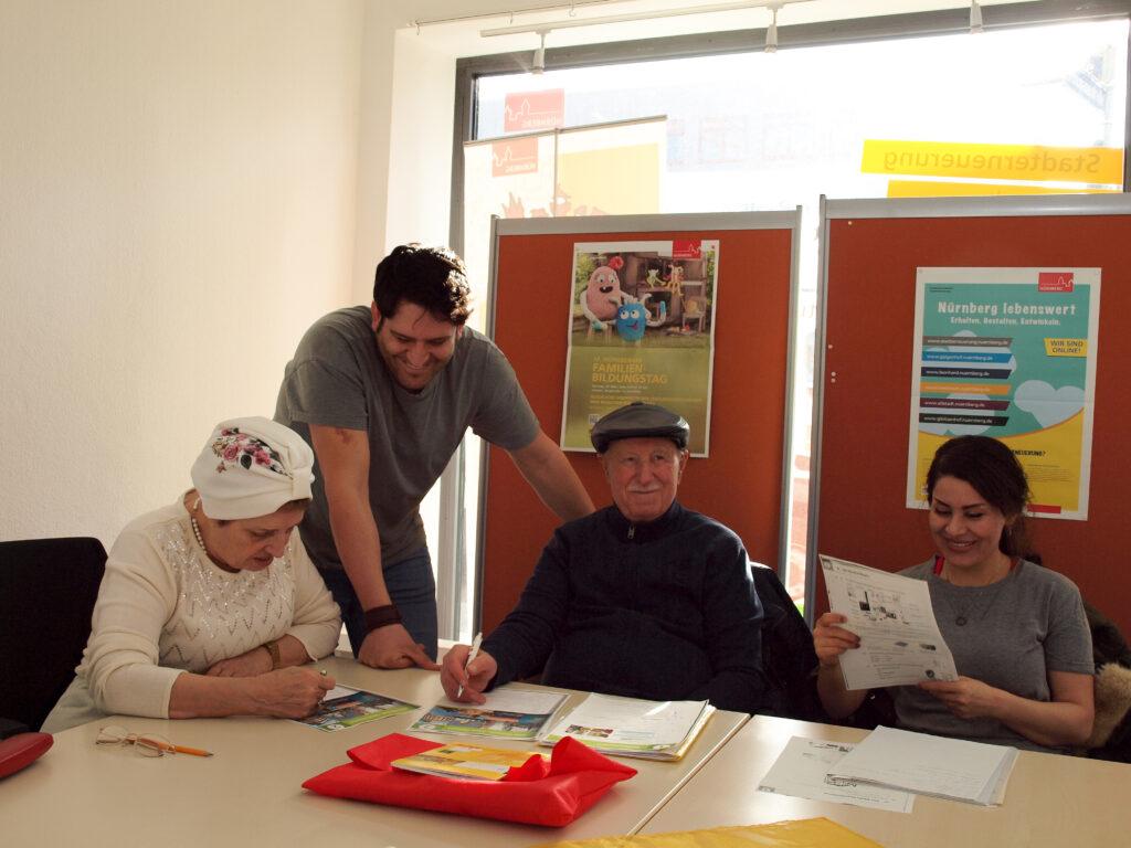 Deutsch-Konversation für ältere Migranten